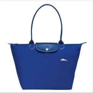 ✨Price Drop✨Longchamp Le Pliage Club Cobalt Blue